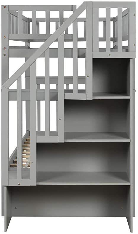 Harper-Bright-Designs-Wooden-Low-Bunk-Bed-4
