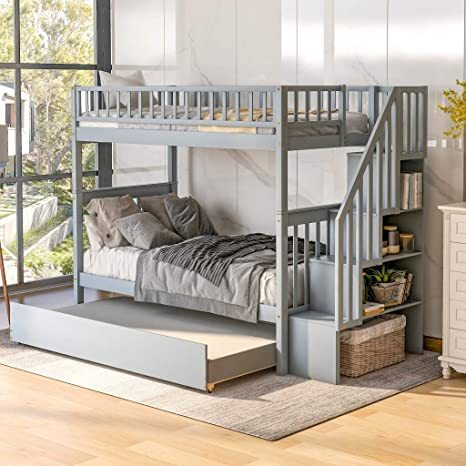 Harper-Bright-Designs-Wooden-Low-Bunk-Bed-5