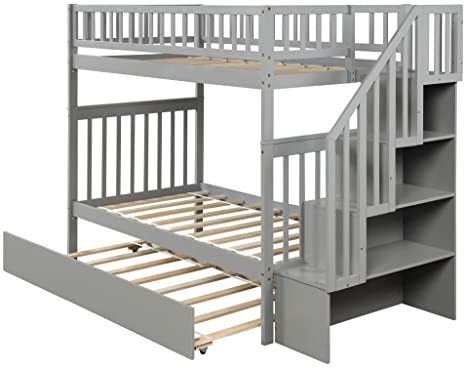 Harper-Bright-Designs-Wooden-Low-Bunk-Bed-6