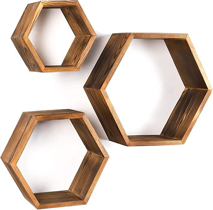 Hexagon-Wall-Decor-Floating-Shelves-1