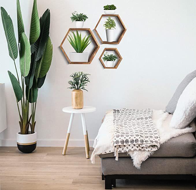 Hexagon-Wall-Decor-Floating-Shelves-3