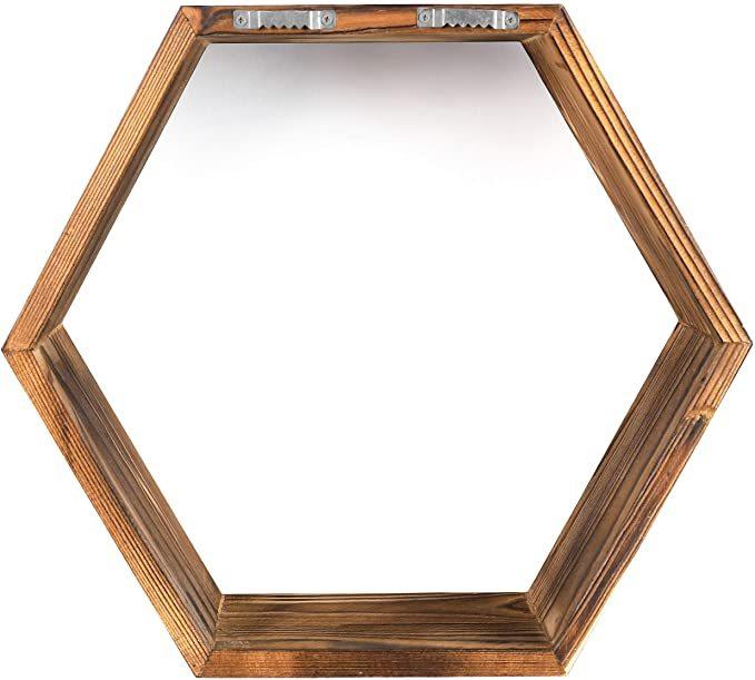Hexagon-Wall-Decor-Floating-Shelves-7