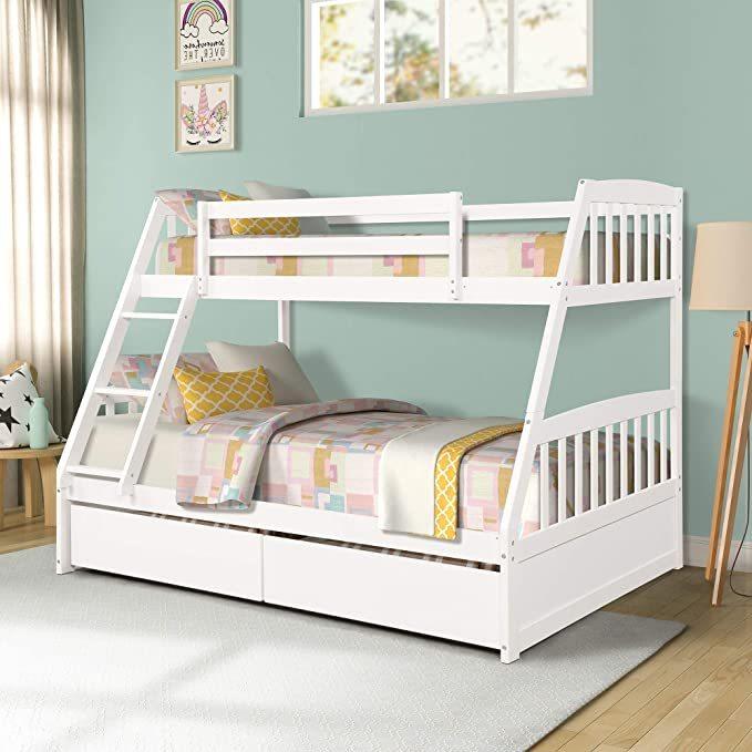 Merax-Solid-Wood-Bunk-Bed-1