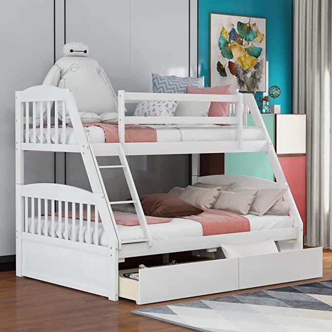 Merax-Solid-Wood-Bunk-Bed-2