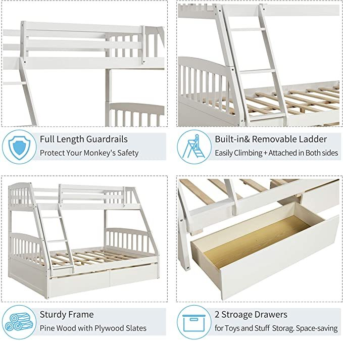 Merax-Solid-Wood-Bunk-Bed-5