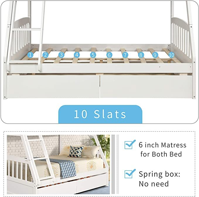 Merax-Solid-Wood-Bunk-Bed-6
