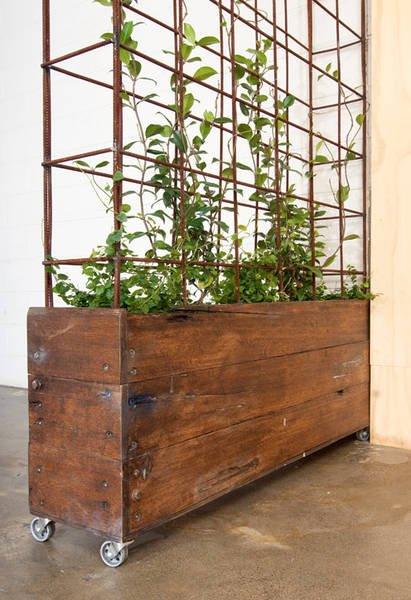 Idoor-Wooden-Box-Herb-Garden