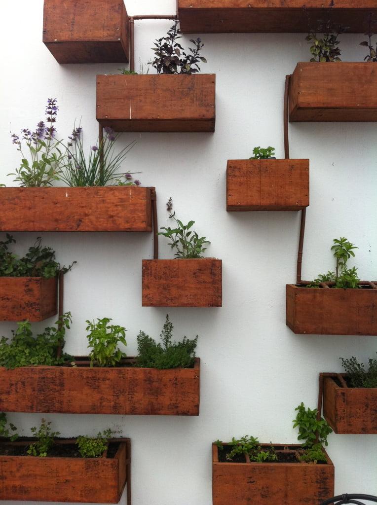 Wooden-Boxes-Indoor-Herb-Garden