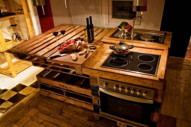 kitchen-island-from-pallet