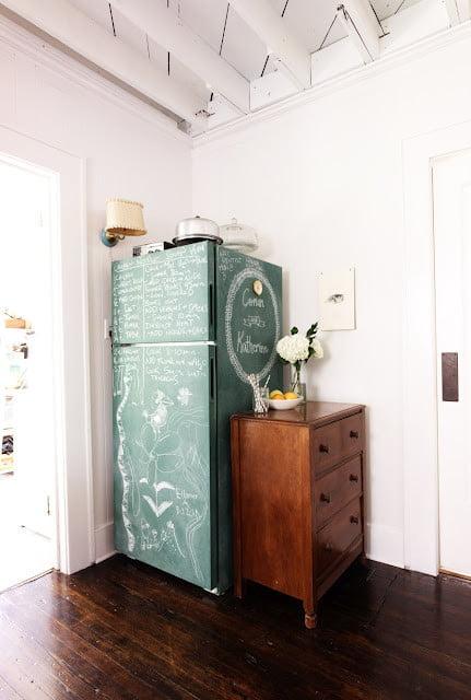 eclectic-kitchen-fridge