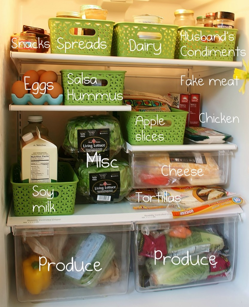 organized+fridge