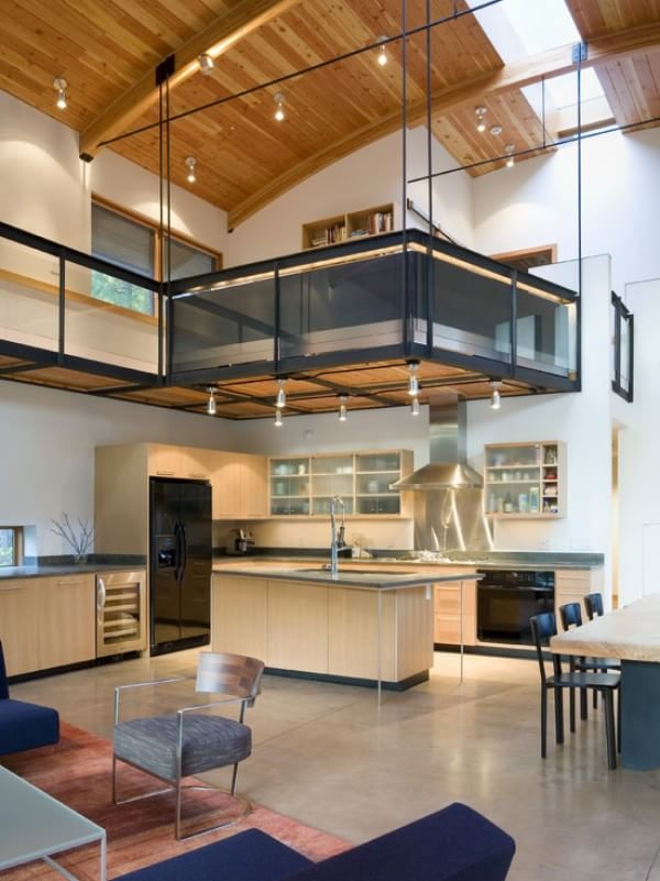 contemporary-kitchen-party-shack-loft