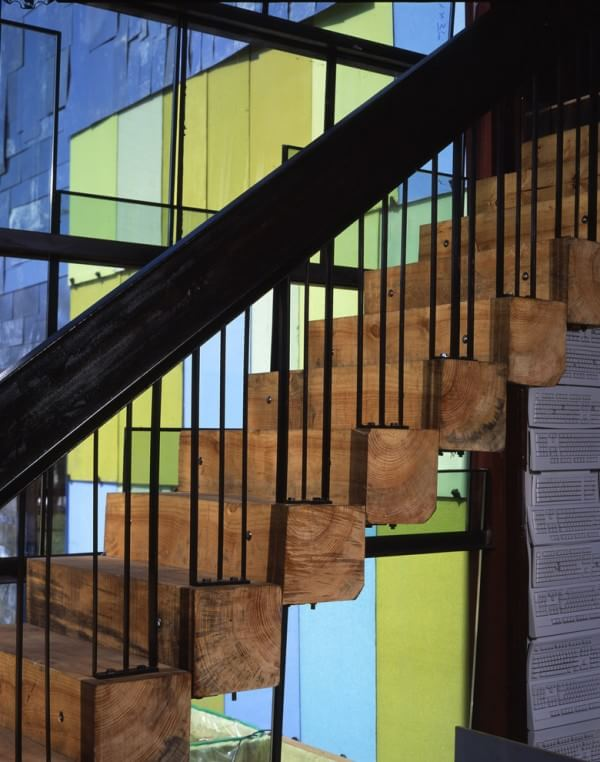 industrial-wooden-staircase
