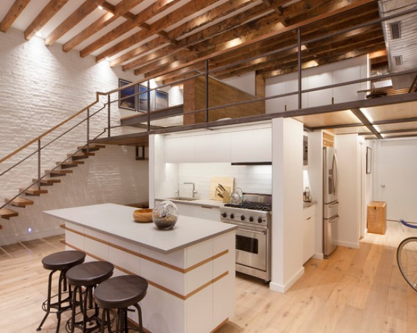 industrialkitchen-soho-loft