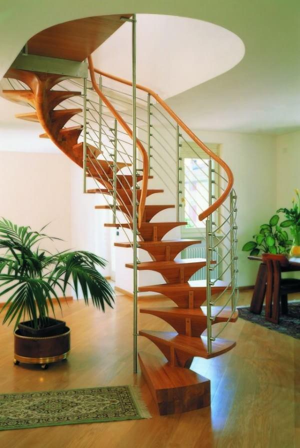 wooden-modern-spiral-staircase