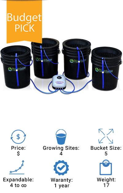 Deep-Water-Culture-(DWC)-Hydroponic-Bubbler-Bucket-Kit-by-PowerGrow-Review