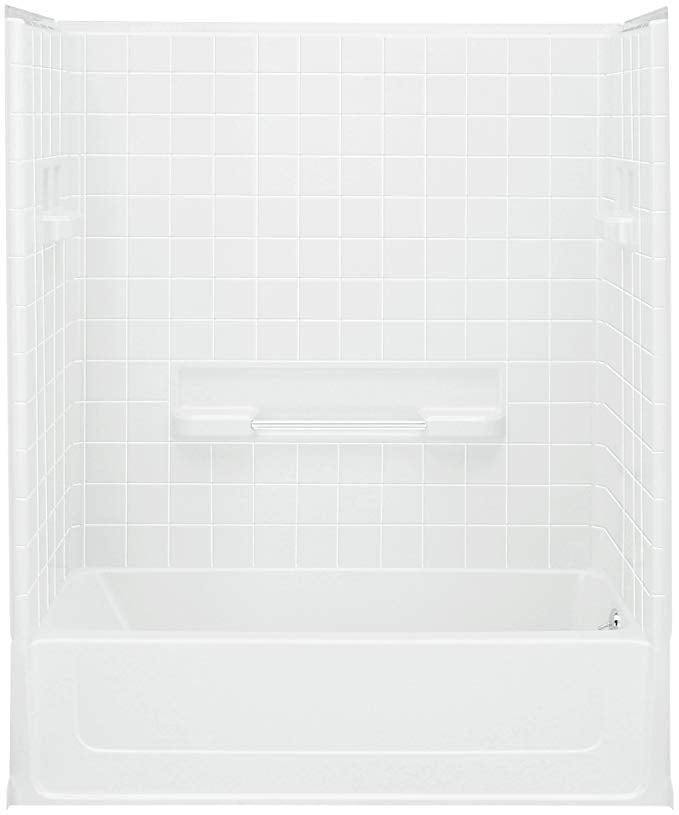 One Piece Bathtub Shower Combo, 1 Piece Fiberglass Tub Shower