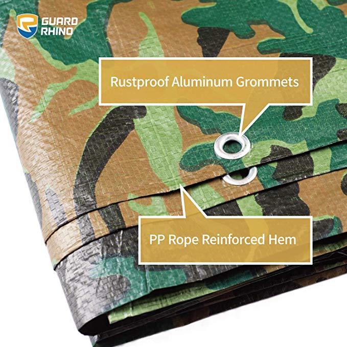 GUARD RHINO Camouflage Tarp 9x9_4
