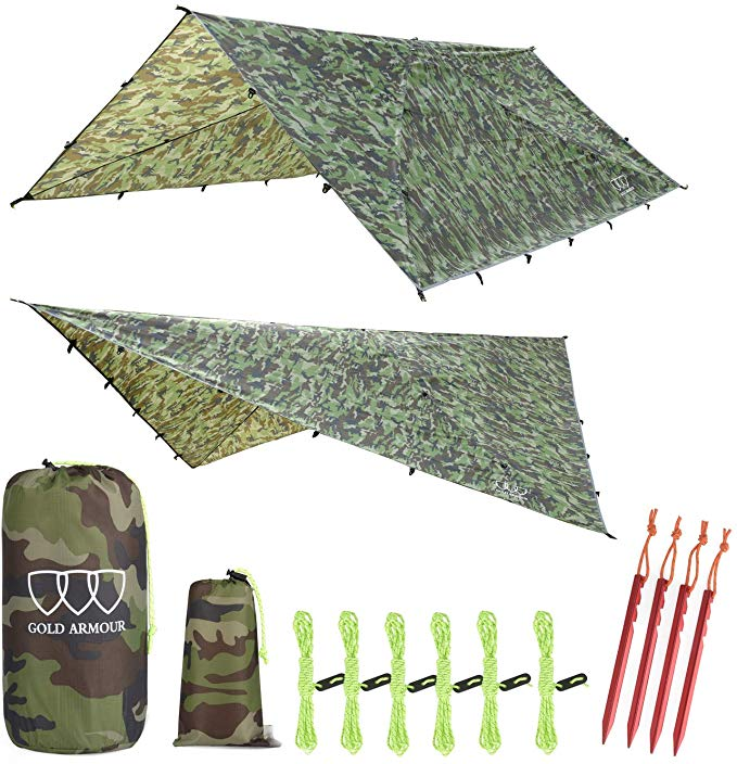 Gold Armour 12ft Extra Large Tarp Hammock_6